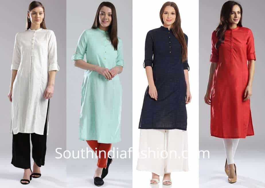 stylish kurtis office wear