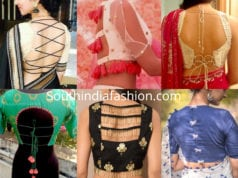 blouse back side designs