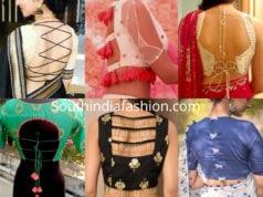 blouse back side designs