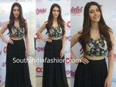 warina hussain skirt crop top love yatri promotions