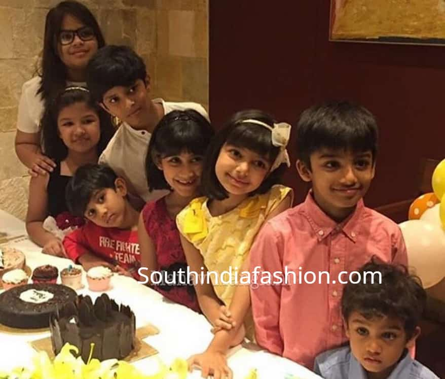 aaradhya bachchan 7th birthday photos