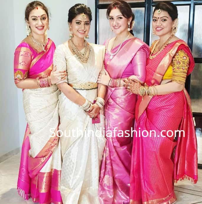e860f117d7 Sneha Prasanna's House Warming Function! – South India Fashion