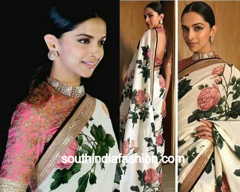 8 Floral Saree Looks of Celebrities That We Are Crushing On!