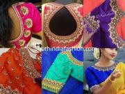guttapusalu work blouse designs