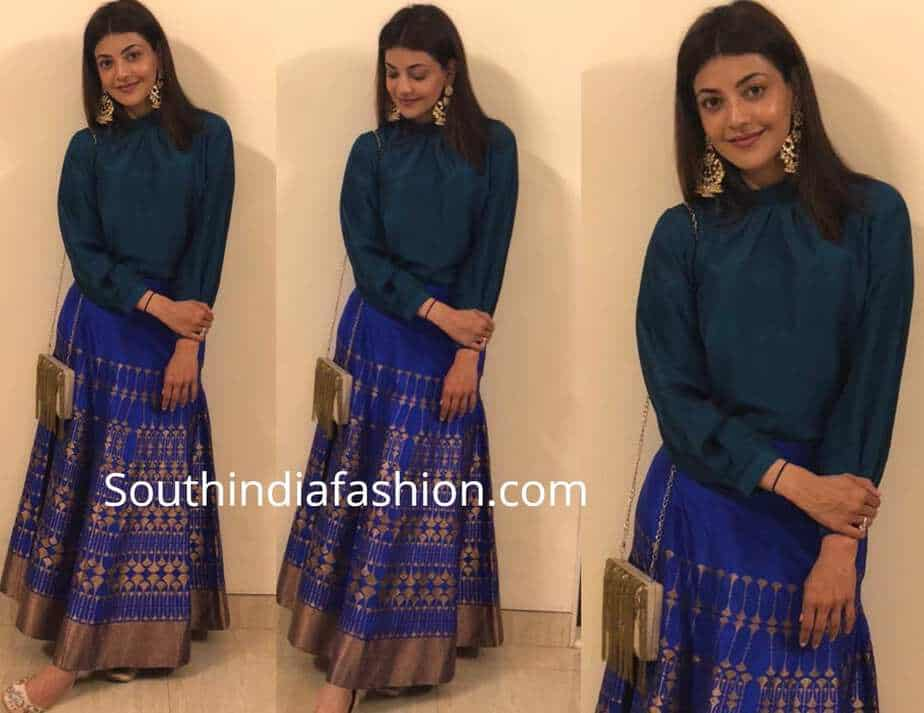 kajal aggarwal payal khandwala skirt and top