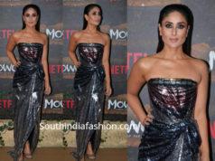 kareena kapoor metallic gown mowgli screening
