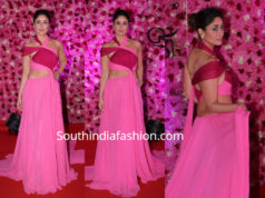 kareena kapoor prabal gurung pink gown lux golden rose awards 2018