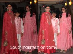 karisma kapoor family at karan johar diwali party