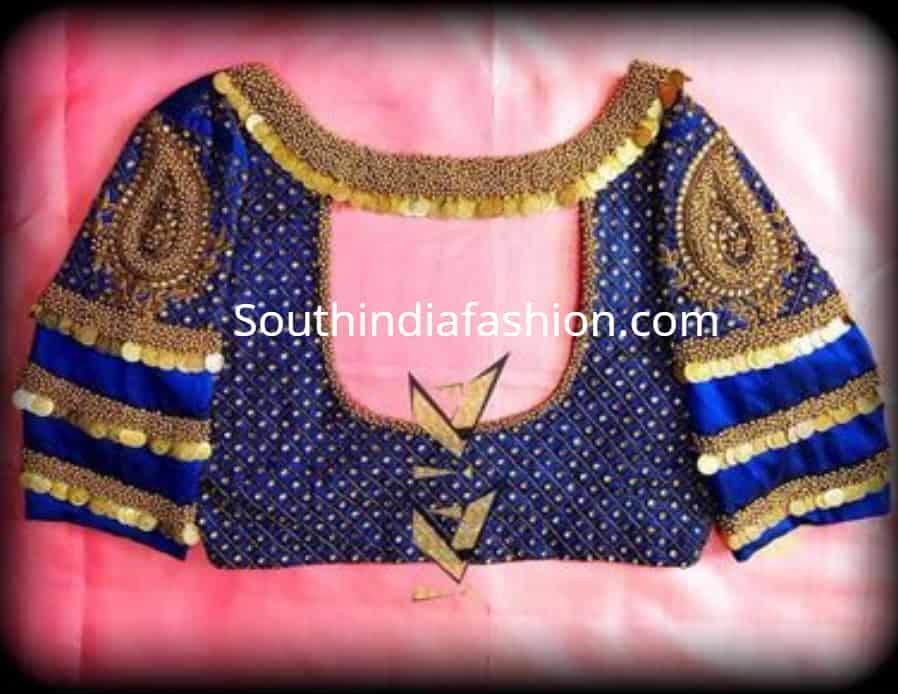 kasu maggam work blouse designs