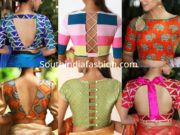 latest saree blouse designs 2019