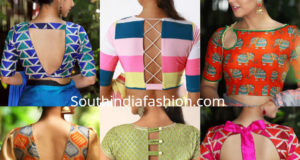 latest saree blouse designs 2019
