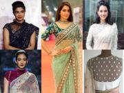 net saree blouses