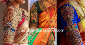 maggam work blouse designs 2019