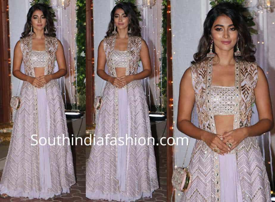 pooja hegde dress at shilpa shetty diwali bash