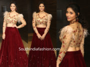 priyanka jawalker long skirt crop top at taxiwala pre release event