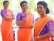 roja palin saree designer blouse