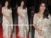 shriya saran in silk saree