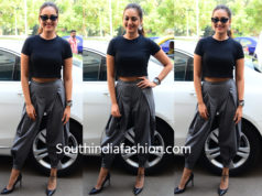 sonakshi sinha dhoti pants crop top
