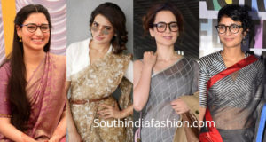 how to wear saree with glasses saree with eyeglasses indian bride wearing specs lehenga with spectacles spectacles with indian wear wearing glasses on wedding day what clothes to wear with glasses bengali bride with spectacles
