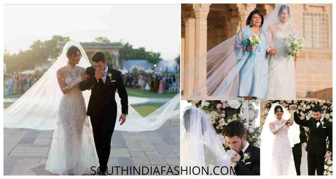 wedding dress Priyanka