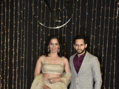 saina nehwal and kashyap at priyanka nick wedding reception