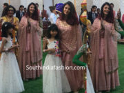 aishwarya and aaradhya at isha ambani pre wedding celebrations