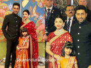 aishwarya and aaradhya at isha ambani wedding