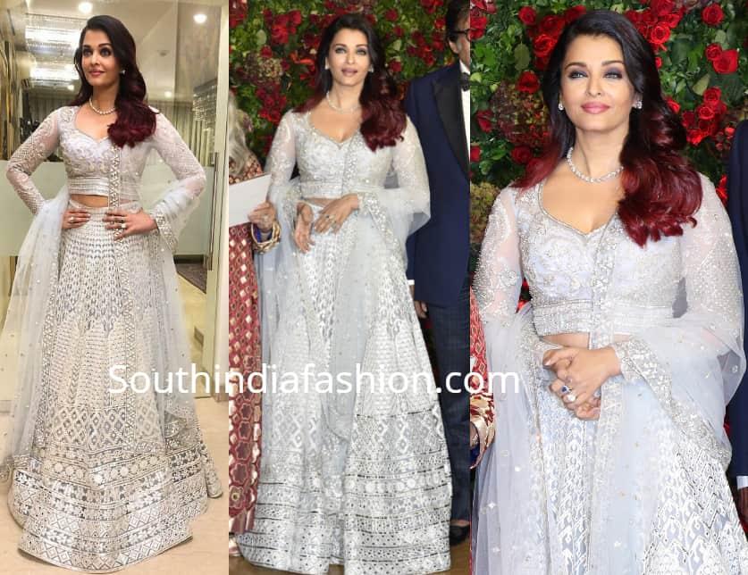 aishwarya rai bachchan at Deepika-Ranveer wedding reception