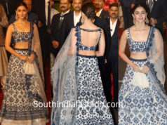 alia bhatt in manish malhotra lehenga at isha ambani wedding