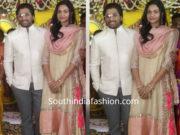 allu arjun and sneha reddy at a wedding