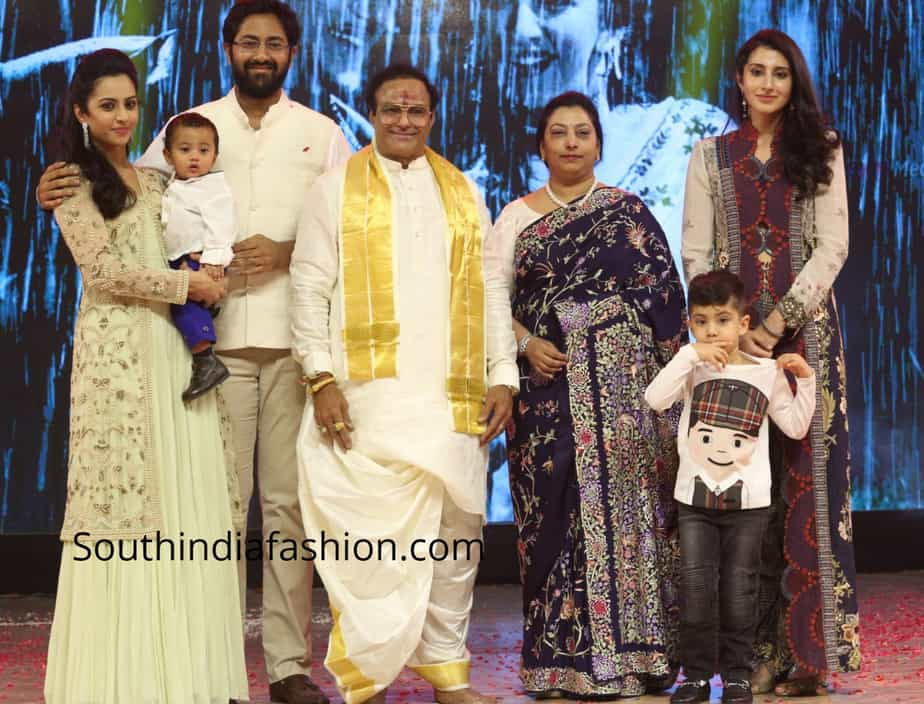 balakrishna family at ntr biopic audio launch