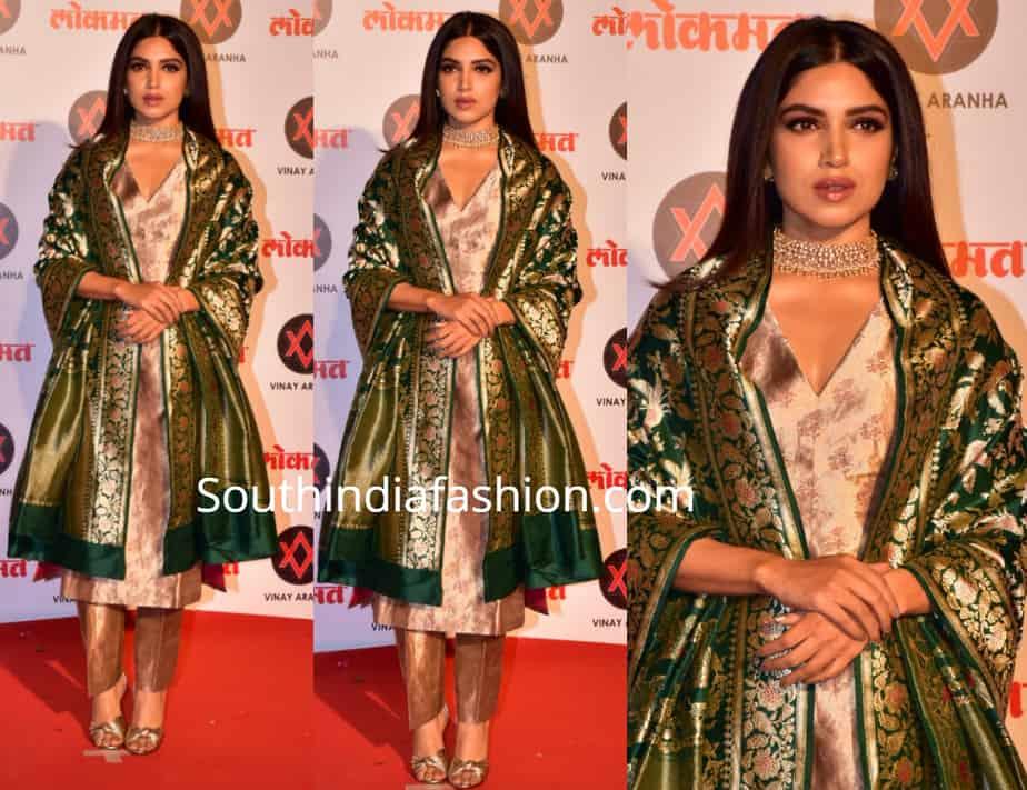 bhumi pednekar at Lokmat Most Stylish Awards