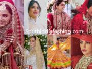 deepika and priyanka wedding dresses