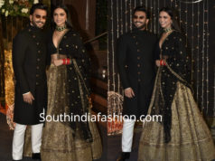 deepika ranveer at priyanka chopra wedding reception