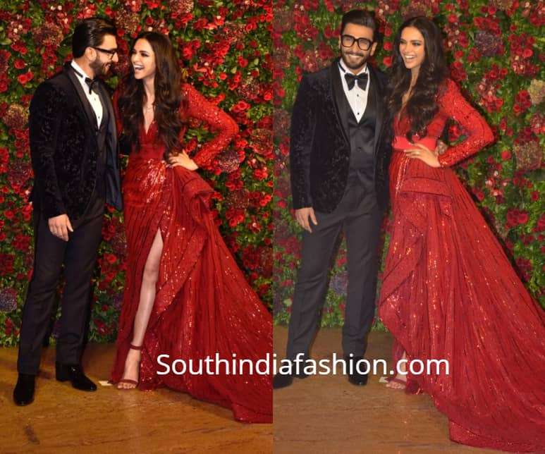 ranveer deepika wedding reception
