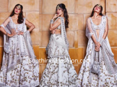 jacqueline fernandez in white lehenga by manish malhotra at isha ambani wedding