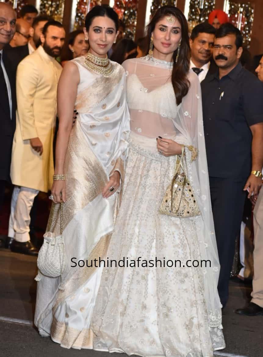kareena karishma at isha ambani wedding