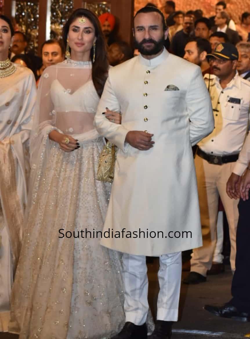 kareena kapoor and saif at isha ambani wedding