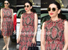 karisma kapoor in kate spade dress for christmas dinner