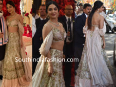 kiara advani lehenga in isha ambani wedding