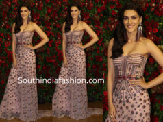 kriti sanon at deepika ranveer wedding reception