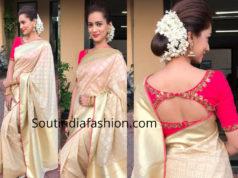 pallavi subhash silk saree