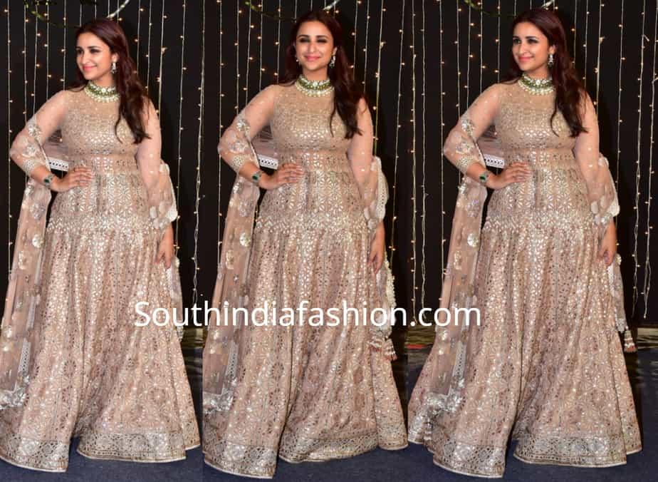 Parineeti Chopra At Priyanka Chopra Nick Jonas Wedding Reception