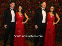 preity zinta and her husband at deepika ranveer reception