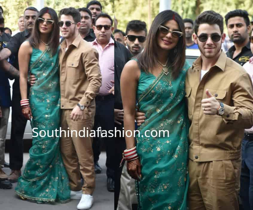 priyanka chopra nick jonas after marriage airport