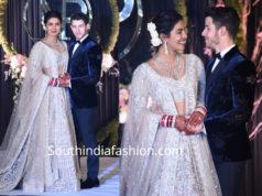 priyanka delhi reception pics