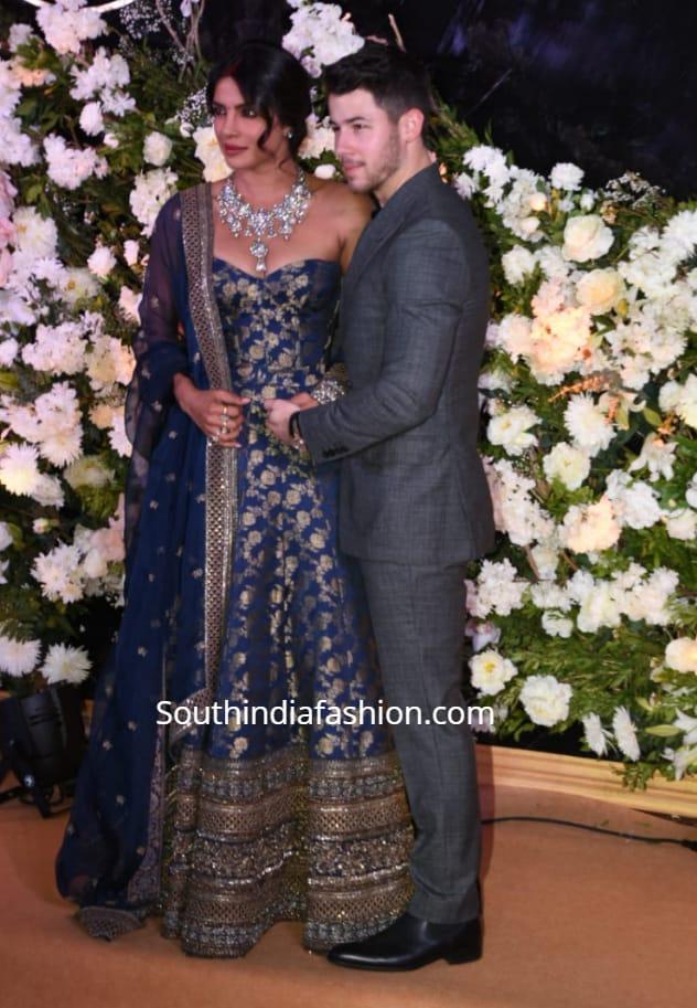 priyanka chopra nock jonas wedding reception in mumbai