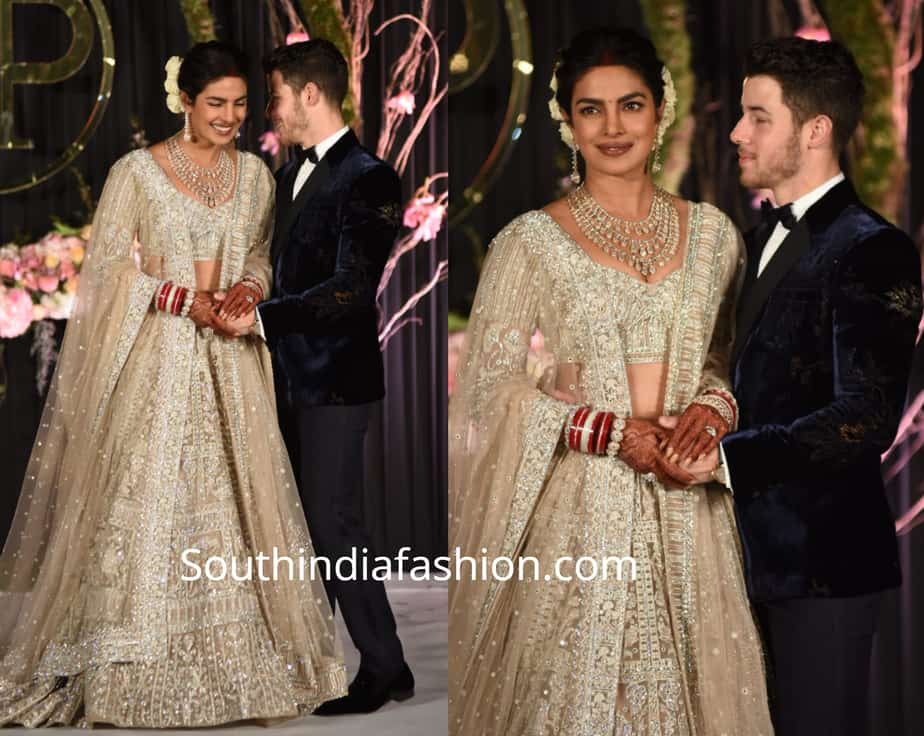priyanka chopra nick jonas wedding reception