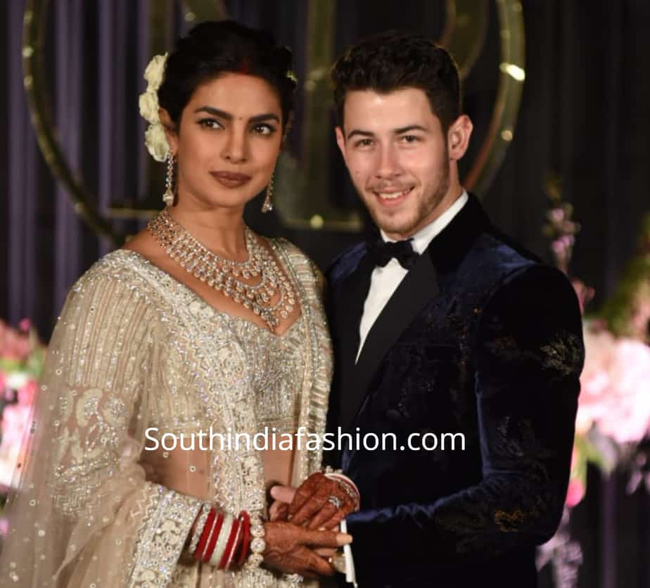 priyanka chopra wedding reception pics