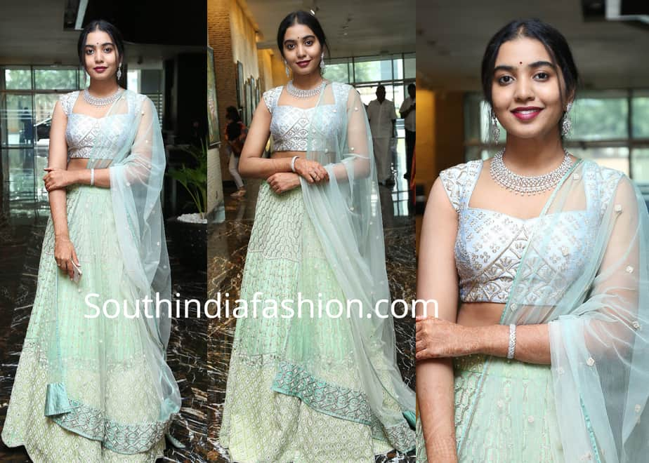 rajasekhar daughter lehenga